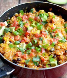 One Pot Cheesy Mexican Chicken Skillet