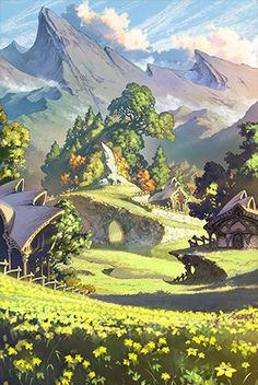The Granblue Fantasy official website. Learn about the Granblue Fantasy world. Fantasy Artwork, Fantasy Concept Art, Fantasy Art Landscapes, Fantasy Landscape, Landscape Art, Fantasy City, Fantasy Places, Fantasy World, Fantasy Background