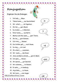 Arbeitsblatt- Fragewörter einsetzen- passende Antworten finden - DaF ...