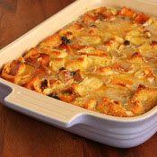 Amaretto Bread Pudding, Recipe