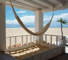 """Beach House Hammock, Barbuda Art Print by Tom Mackie"" - Beach and Coastal Views posters and prints available at Barewalls.com"