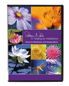 Robyn Nola's Healing Art Collection: Visual Meditation DVD. Relax into Robyn Nola's healing nature photography as it has never been seen before. This visual meditation DVD takes you on a healing journey of appreciation and love for nature. Take flight with butterflies from across the world; experience the healing world of flowers; and drink in the gentle waves of color therapy from Robyn Nola's abstract collection. The entire DVD is professionally arranged to divinely-inspired music.