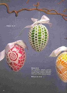 crocheted easter egg