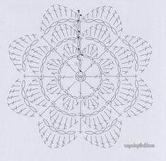 Collection of Irish lace motifs of Japanese magazine Irish Crochet Lace 2 [see photo] Irish Crochet, Diy Crochet, Crochet Bookmarks, Irish Lace, Tiny Flowers, Crochet Flowers, Crochet Patterns, Crochet Stitches, Projects To Try