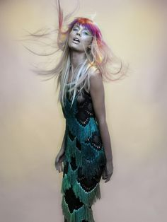 Aquarius - Korlekie S/S '14 Campaign - http://www.simplysunsigns.com/