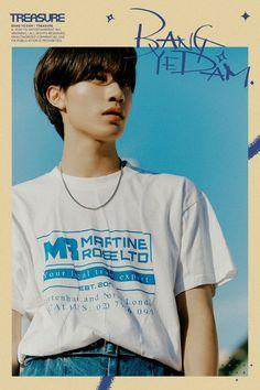 editorial vol 6 Yg Entertainment, Lirik Lagu Treasure, Yoshi, Kpop, Hyun Suk, Fandom, Chapter One, Treasure Boxes, South Korean Boy Band