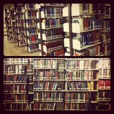 library / books / bookshelves