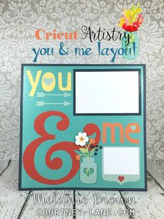 Cricut Artistry You and Me! One FAV image on the new Artristry Cartridge is the Mason Jar and I haven't used it yet! Love Melanie's use here! Order at http://AboveRubies.ctmh.com