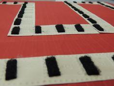 velcro game board