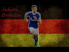 Julian Draxler (born 20 September 1993) is a German footballer who plays as an attacking midfielder for Bundesliga club Schalke 04 and the German national team.  In January 2014, he was named by The Guardian as one of the ten most promising young players in Europe.