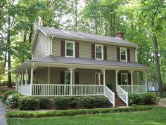 one story farmhouse plans with porches style house plan wrap around porch