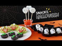 4 Snacks Para Halloween | Postres Fáciles | Akari Beauty - YouTube