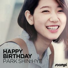Happy Birthday to #ParkShinHye! - February 18, 1990 - Celebrate by catching her on SoompiTV: http://tv.soompi.com/en/actors/park-shin-hye