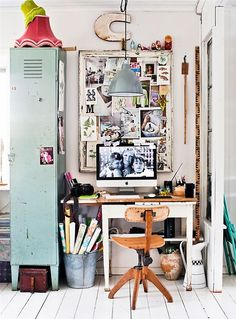 Office Inspiration | Love the locker