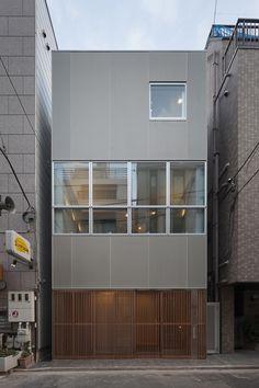 Casa en Ningyo-cho / K+S Architects
