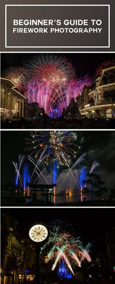 If you're like us a couple years ago, and just want to be able to capture the moment of a Disney Parks fireworks show, buckle up, because this post is for you. #photography