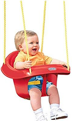Fitness & Body Building Honest Outdoor Play Kids High Back Full Bucket Swing Seat With Coated Chain In Home Garden