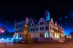 Poland Glubczyce old town / Polska Głubczyce - rynek