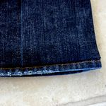 How to hem jeans without ripping out the original hemline... looks so easy!