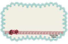 Violeta lilás Vintage: Template Retro ( Azul e Rosa)