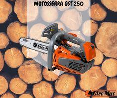 NOVA MOTOSSERRA GST 250  #oleomac #oleomacportugal #motosserra #estilodevida #GST250 #Emak #profissional #isolamento #potência #OM