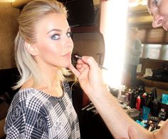Julianne Hough's Hair, Makeup & Wardrobe Team Reveal How to Get Her Red-Carpet Look from InStyle.com
