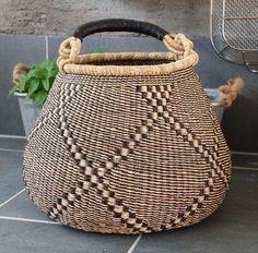 X Large Bell Shape Bolga Basket
