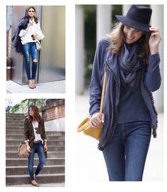 Love #denim! Un básico en los looks causal. Los de #orelsebarcelona quedan como un guante :-) www.orelse.es #fashion #moda #jeans #style #oliviapalermo #lovelypepa #misscavallier