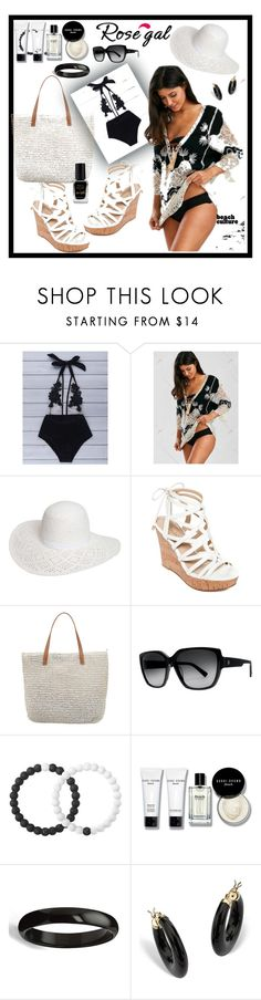 """""""Rosegal"""" by amraa-145 ❤ liked on Polyvore featuring Dorothy Perkins, GUESS, Seafolly, Electric, Lokai, Bobbi Brown Cosmetics, Palm Beach Jewelry and Barry M"""