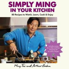 Simply Ming In Your Kitchen Corinne Trang's Sweet and Spicy Asian Mango Salsa with Grilled Shrimp