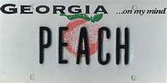 Georgia Georgia Girls, Georgia On My Mind, Family Reunion Themes, Car Tags, South Of The Border, License Plates, Corals, Sweet Tea, Southern Style