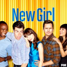 New Girl S3 Cast Promotional Poster