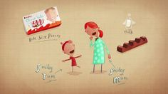 Russell Brooke has directed this new spot for Kinder Chocolate with design by award winning artist, illustrator and author Oliver Jeffers.  Here's a link to the spot and to Oliver Jeffers' website.