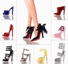 Christian Louboutin Barbie Shoe Collection | Selecta Club