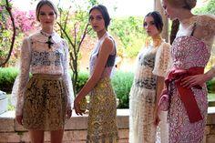 Présentation de la première collection Dolce  Gabbana ALTA MODA à Taormina, en Sicile. #dolcegabbana #madame #lefigaro