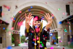 senior picture idea | confetti senior pictures | paigevaughn.com