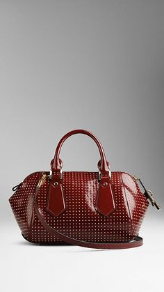 The Small Blaze in Studded Leather | Burberry