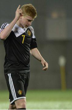 Tegen Andorra maakte Kevin een doelpunt à la Ronaldo.