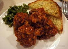 porcupine meatballs in tomato sauce Recipe