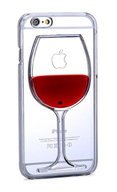 79% off now, $9.9 including shipping! Eyecatching Red Wine Iphone Case Desen® [Non-Slip] [Exact-Fit] Case Slim [Fit Series] [Thin Fit] [Smooth Transparent] (IPHONE 6 PLUS)