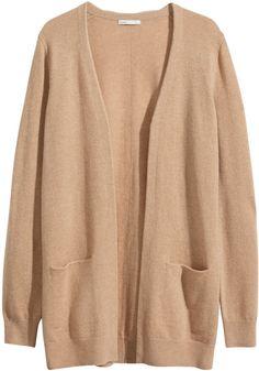 H&M - Cashmere Cardigan - Camel - Ladies