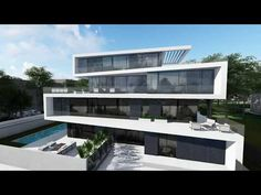 Concept design for 1500 m2 villa 2017-09-20 | NG architects