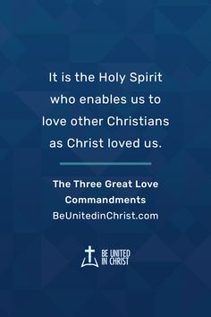 In His Word, God gives us three great commandments, rules for operating in love with Him, with others, and with our Christian brothers and sisters. Learn more in The Three Great Love Commandments. Unity Quotes, Greatest Commandment, Love Others, Transform Your Life, Great Love, Holy Spirit, Christianity, The Help, Sisters