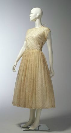 Dress, Claire McCardell, 1945-50.