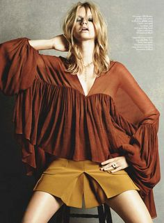 Marie Claire UK March 2015 | Nadine Leopold | David Roemer