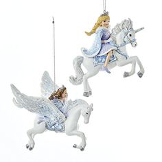 Are you looking for Unicorn Christmas Ornaments? You find plenty of Beautiful Unicorn Ornaments that are perfect for your Christmas tree or as gifts. Unicorn Christmas Ornament, Unicorn Ornaments, Christmas Tree Ornaments, Majestic Unicorn, Magical Unicorn, Beautiful Unicorn, Unicorn Gifts, Believe In Magic, Whimsical