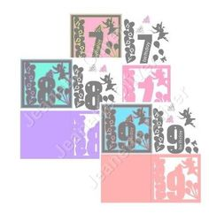 Special Offer 3 Sets of Fairy Topper and Card Ages 7 8 9 on Craftsuprint - Add To Basket!