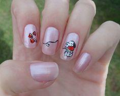 snoopy nail art - Google Search
