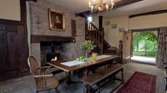 The hall at Cwmmau Farmhouse, Whitney-on-Wye, Herefordshire  © Mike Henton