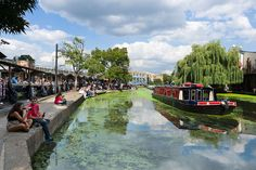 8 enchanting canals and waterways for a relaxing holiday Regents Canal, Relaxing Holidays, London Calling, British Isles, Northern Ireland, Countryside, Britain, England, The Incredibles